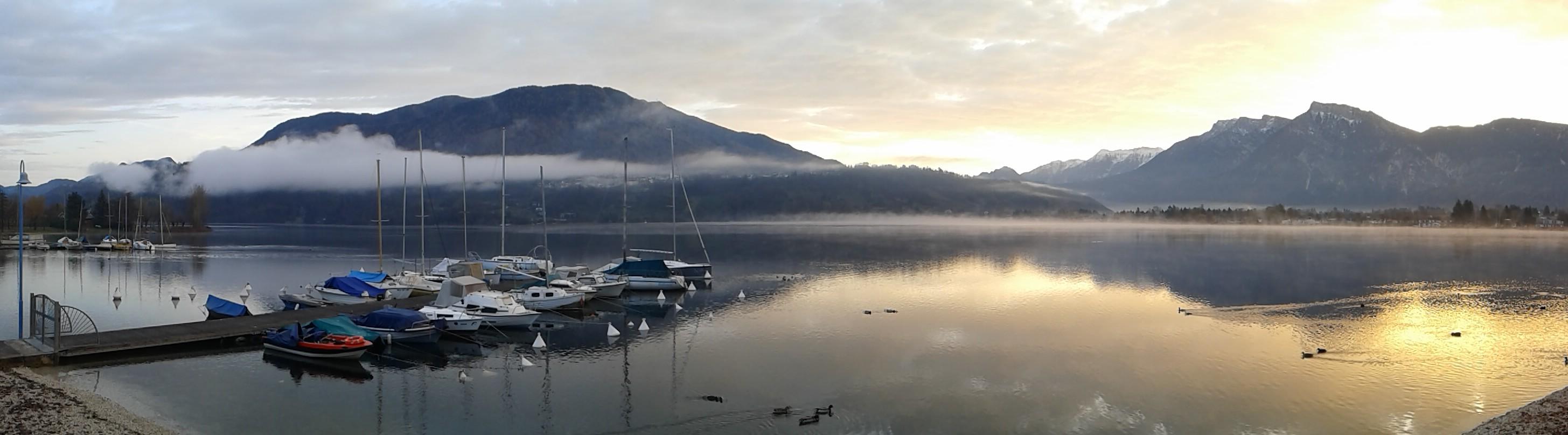 alba sul lago di Caldonazzo a pochi passi dal b&b casa sul lago appartamenti casa vacanze sul lago di caldonazzo trentino